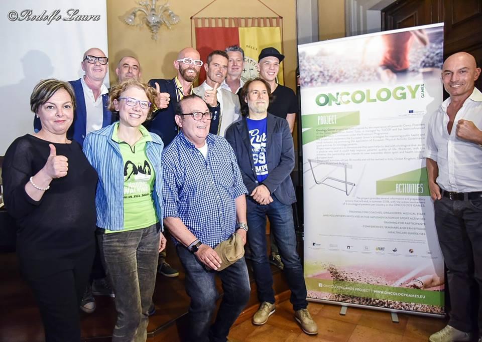 (Italiano) Tredici atleti italiani per gli «Oncology Games»: Roma, 23-24 giugno
